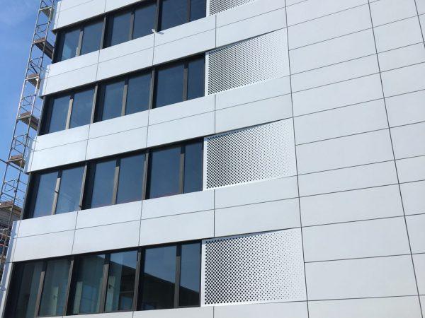 Vorgehängte hinterlüftete Fassaden